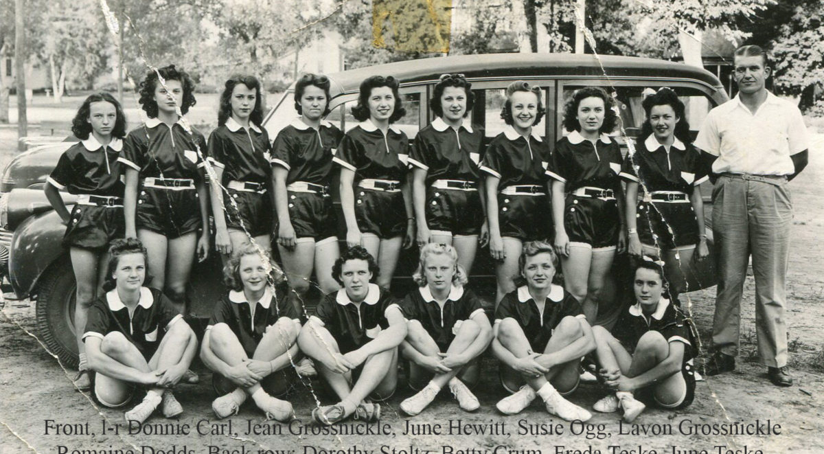 1938-39 Girls Team