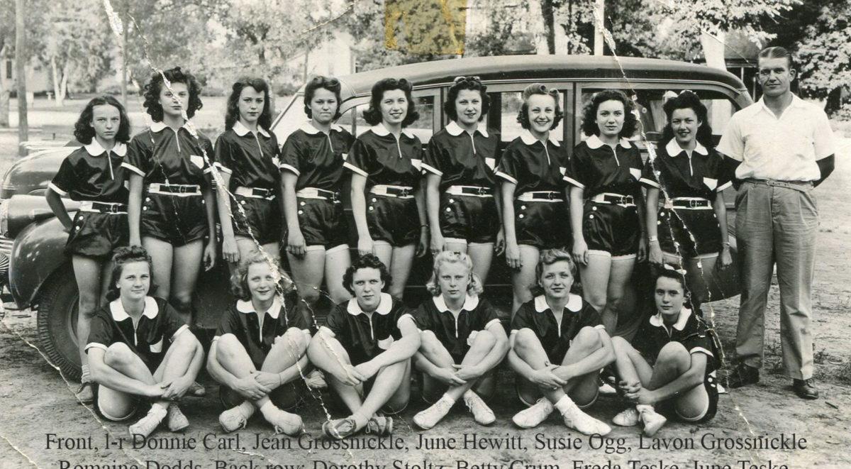 1938-39 Girls Team