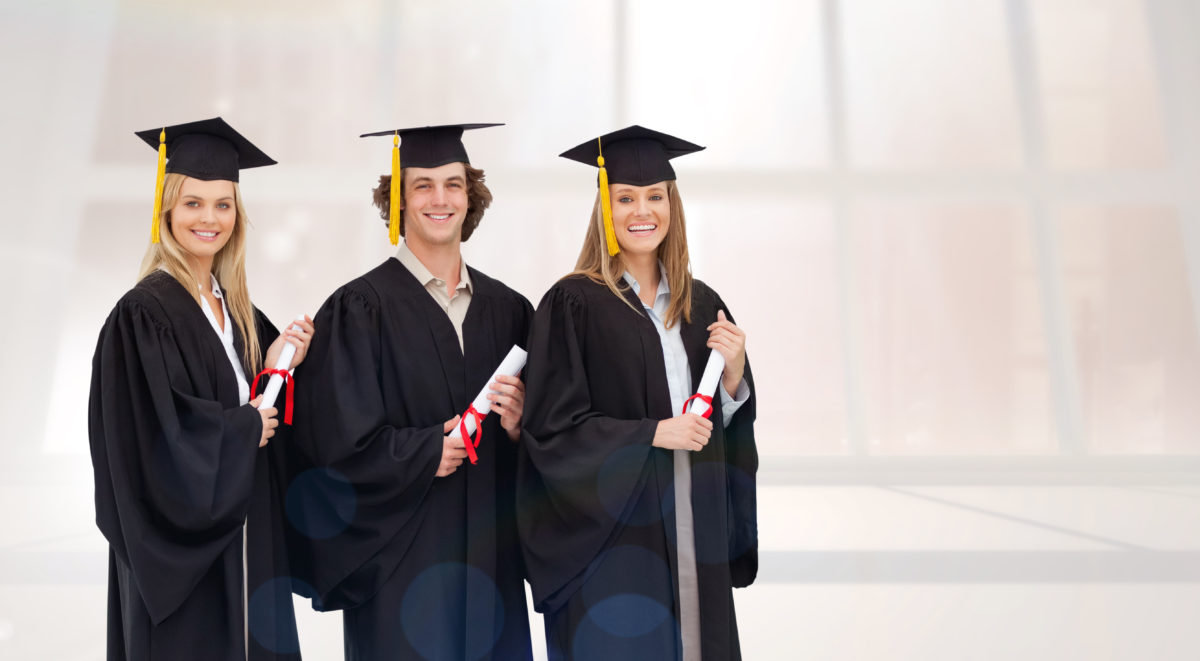 three grads pic